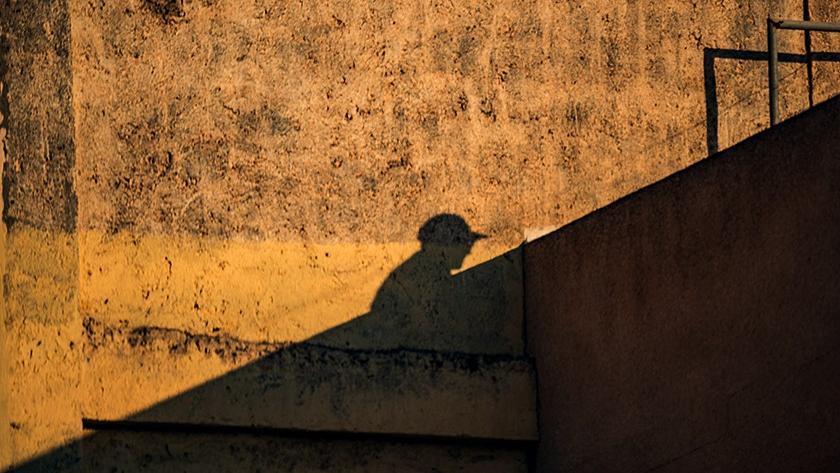 Imagen de El mundo visto desde casa, serie con la que De Paz explora el confinamiento.