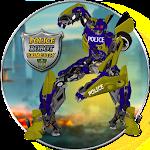 Police Robot Grand City Icon