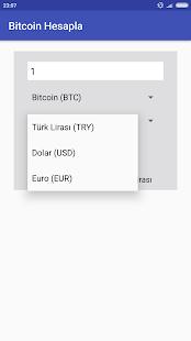 Bitcoin Hesaplama - náhled