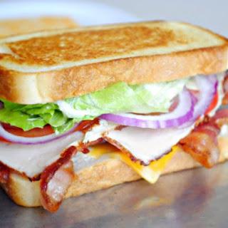 The BLT Club Sandwich.