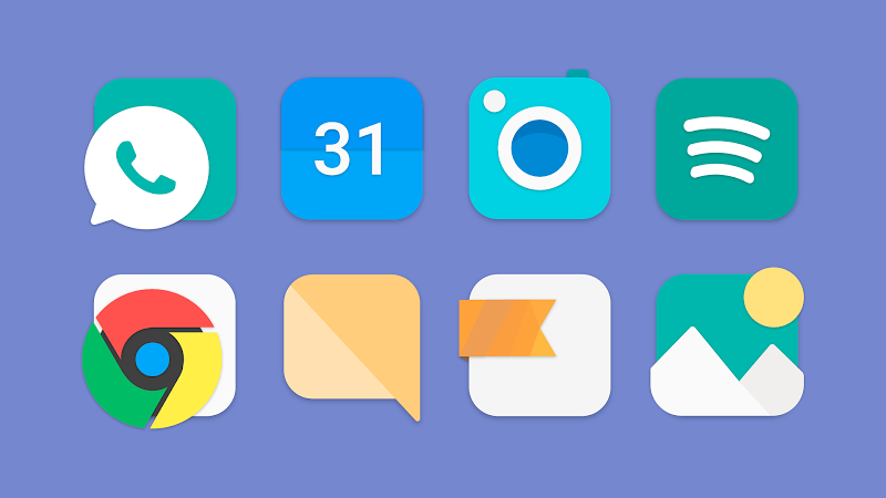 Flat Evo - Icon Pack Screenshot 2