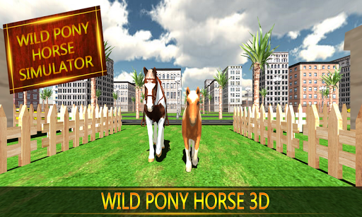 Wild Pony Horse Simulator 3D