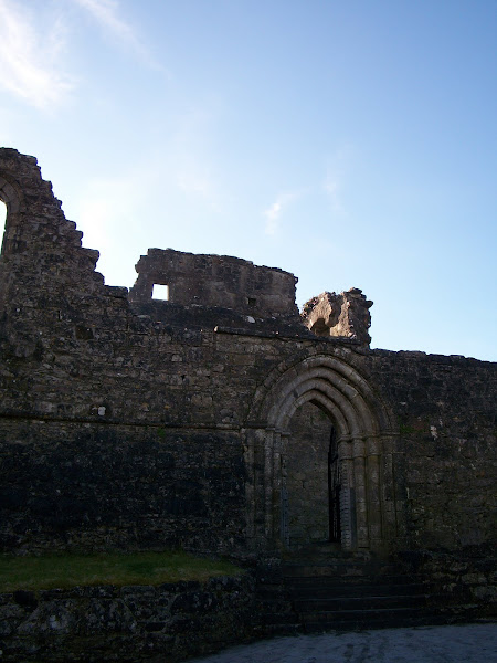 Photo: Ruins of an abbey in Cong