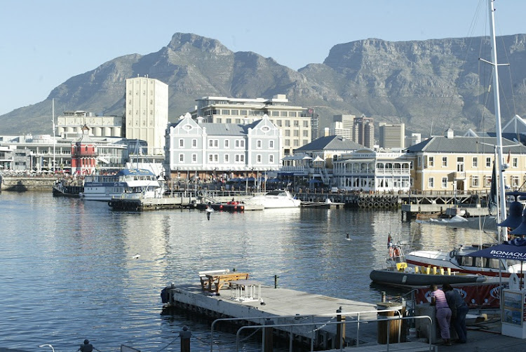 The V&A Waterfront, Cape Town. Picture: SUNDAY TIMES