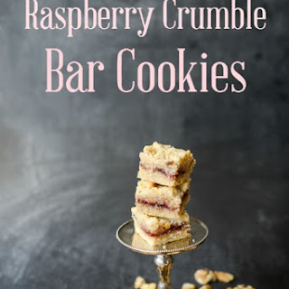 Raspberry Crumble Bar Cookies