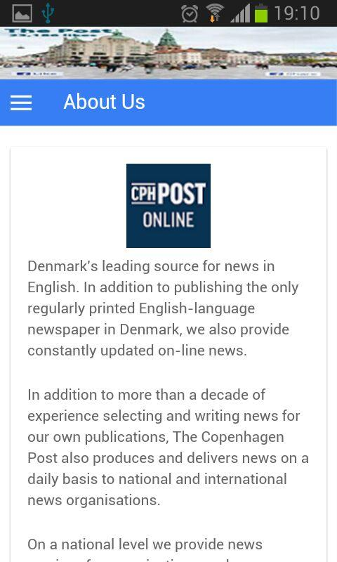 CPHPost- screenshot