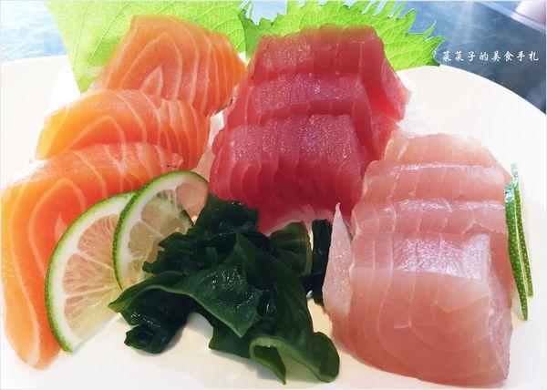 [台中北區]阿裕壽司|綜合生魚片、起司壽司、炙燒鮭魚握壽司、茶碗蒸|CP值爆表、一訪再訪的台中必吃店家