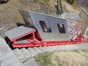 Photo: Brissago Kraftwerk Verbano - www.standseilbahnen.ch Standseilbahn Funiculaire Funicular