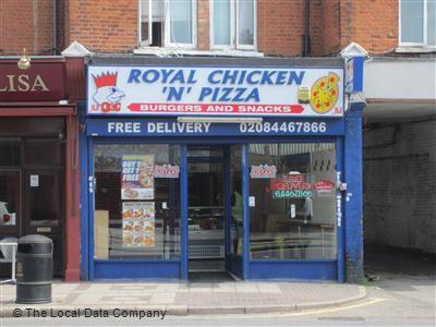 Royal Chicken N Pizza On High Road Fast Food Takeaway In