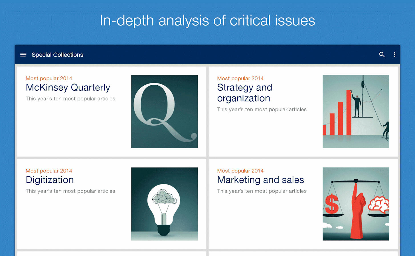 McKinsey Insights- screenshot