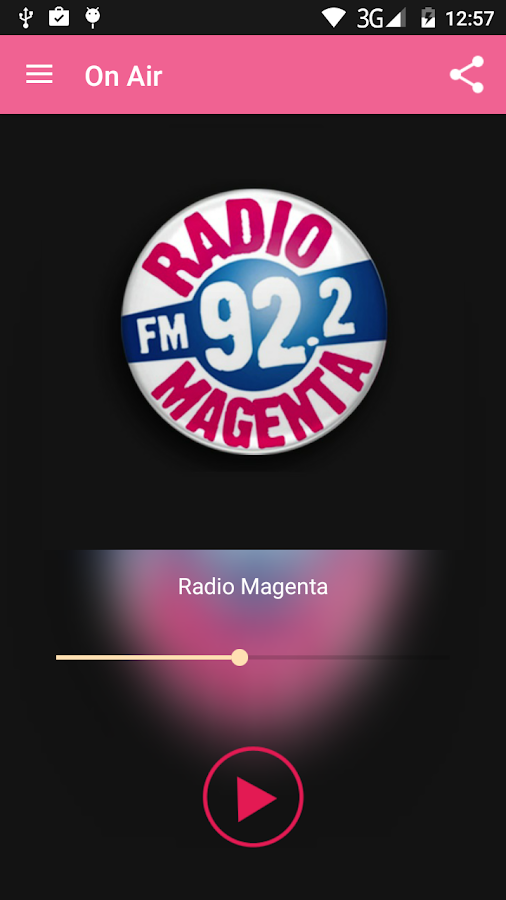 Radio Magenta- screenshot