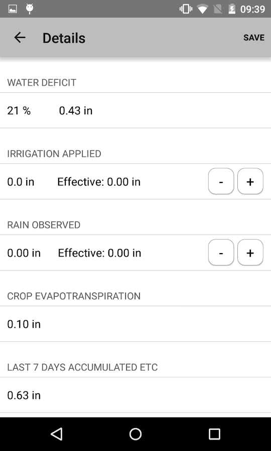 Smartirrigation Cotton- screenshot