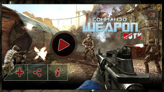 Commando Zbraně Duty - náhled