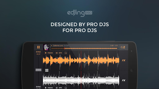 edjing PRO LE - Music DJ mixer 1.5.4 screenshots 1