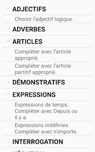 French Quiz App - náhled
