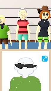 Line Up Draw the Criminal Mod APK 1.1.4 (No Ads) for Android 3
