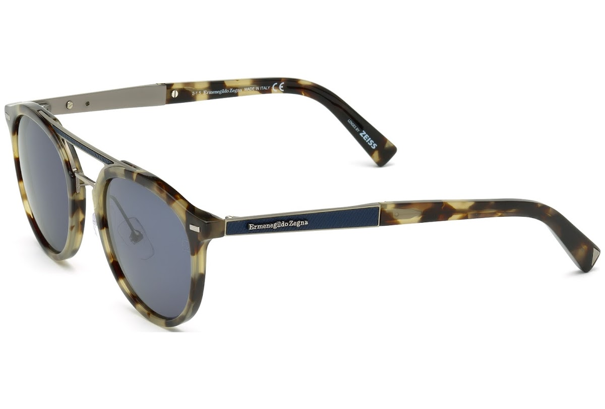 7311f4ece62 Sunglasses Ermenegildo Zegna EZ0022 C50 55V (coloured havana   blue)
