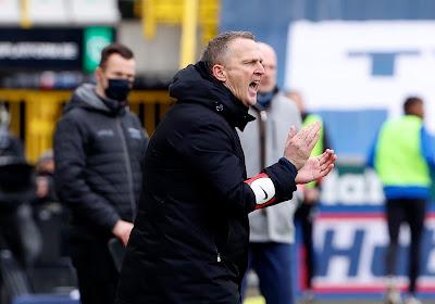 """Van Den Brom a des regrets: """"Nous encaissons des buts suite à des erreurs de notre part"""""""