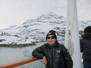 Photo: Keith in Glacier Bay
