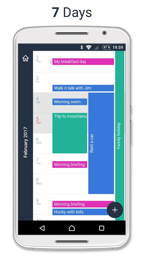 OneView Calendar- screenshot