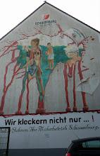 Photo: Werbewand Malerbetrieb Schaumburg GmbH; Hohenburgstraße 80