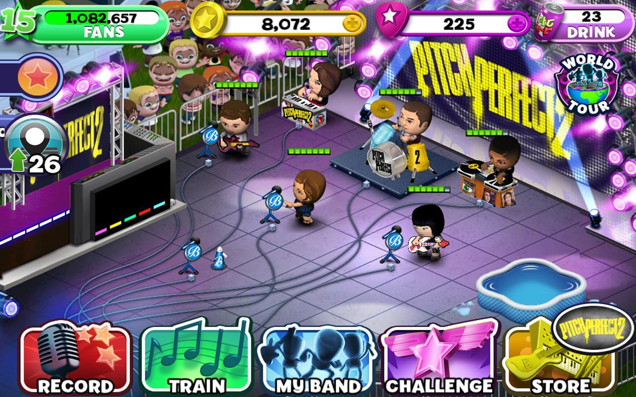 Band Stars- screenshot