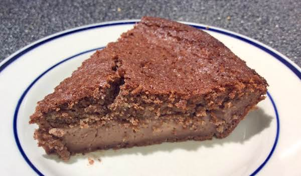 Crustless Chocolate-almond Pie Recipe