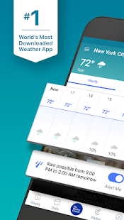 Weather radar and live maps - The Weather Channel Screenshot