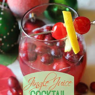 Jingle Juice Cocktail.