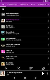 Audio Player : Rocket Player Screenshot