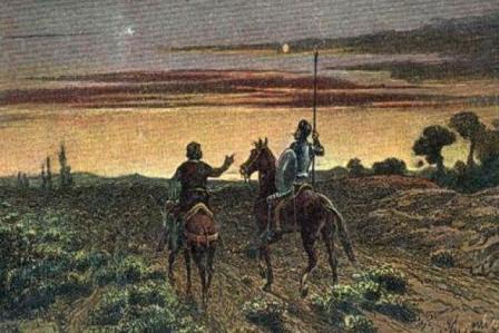 Don Quijote de La Mancha.- Segunda parte, capítulo octavo