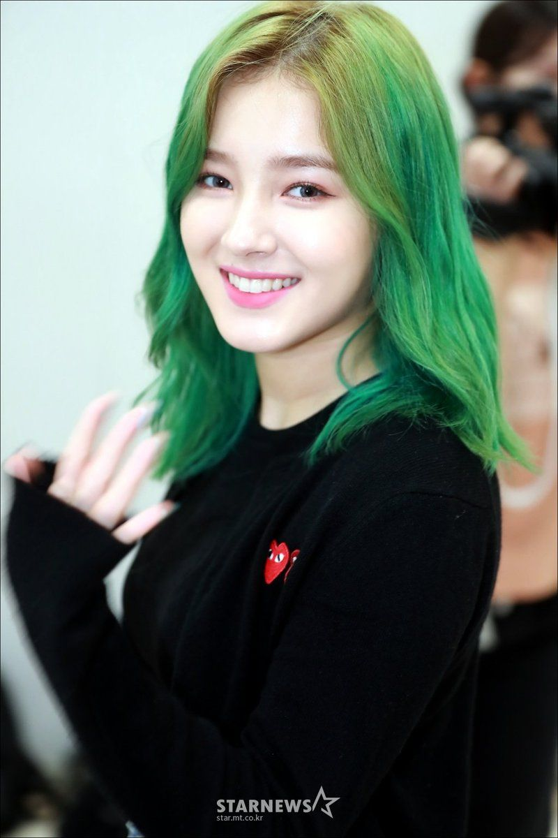 green nancy momoland