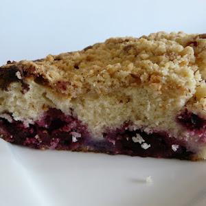 Ultra Soft Blueberry Danish Cake with a Crispy Almond Crust