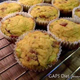 Bacon Muffins Gluten-Free Dairy-Free Made with Coconut Flour.