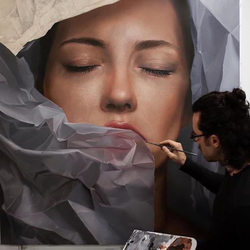 Incríveis pinturas realistas feitas pelo artista Mike Dargas