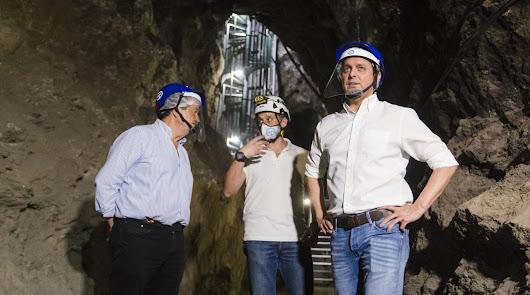 La Geoda de Pulpí incorpora un ascensor y una nueva galería minera