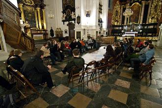 Photo: Wahadło Foucaulta w kościele św. Piotra i Pawła (najwyższe w PL).
