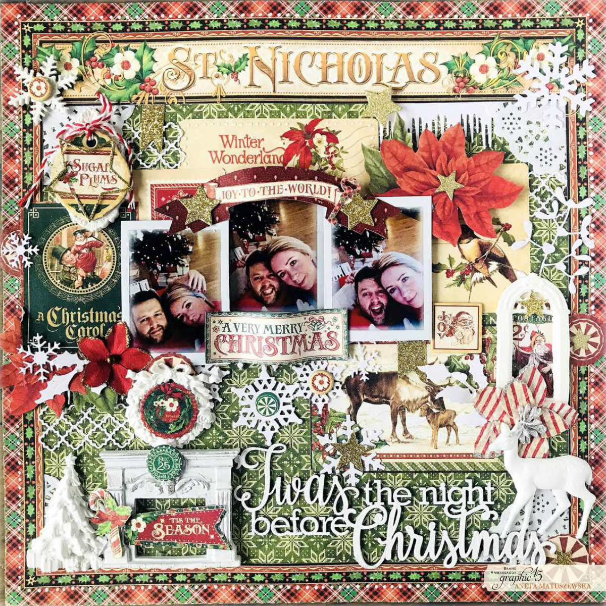 """Winter Wonderland""Christmas LO for Graphic 45, by Aneta Matuszewska, photo 1.png"