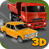 Russian Car Traffic Racer 3D