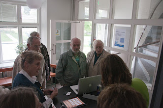 Photo: Öppet hus 20 aug(demo Ipad) Foto Göran