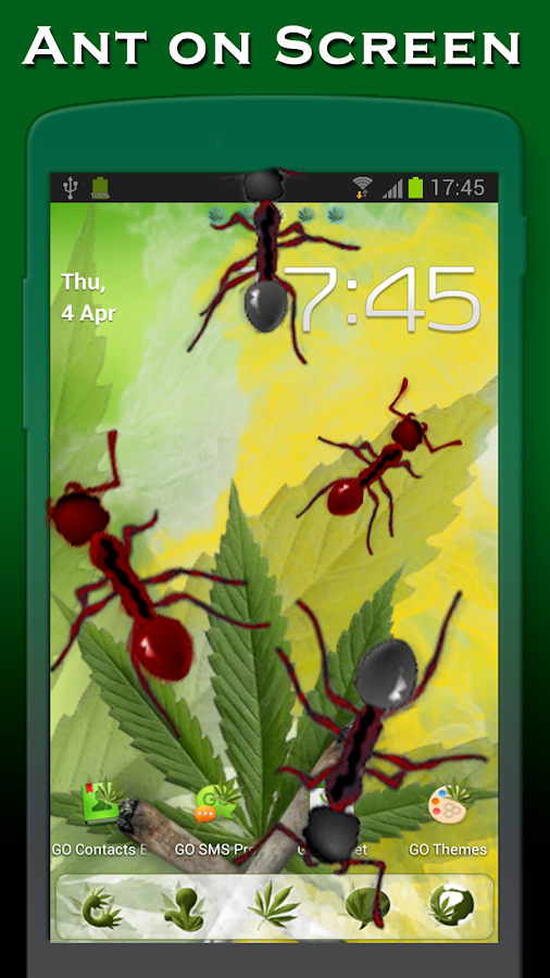 Ants on screen- screenshot