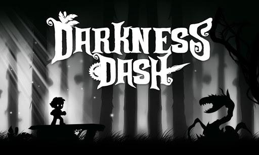 어둠 대시 게임 실행하고 게임을 점프 무료 게임
