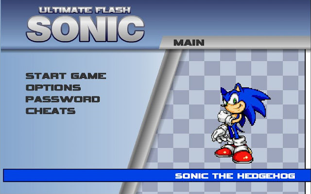 Sonic Ultimate Flash Chrome
