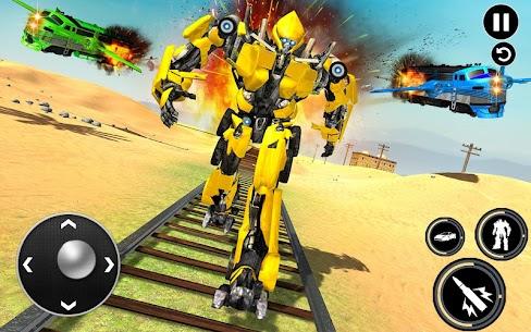 Futuristic Train Transforming Robot Games 3
