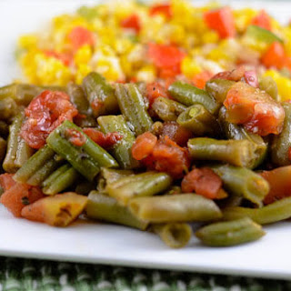 Creole Green Beans.