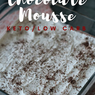 Chocolate Mousse {Keto / Low Carb}.