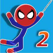 Spider Swing 2 - Spider stickman swing