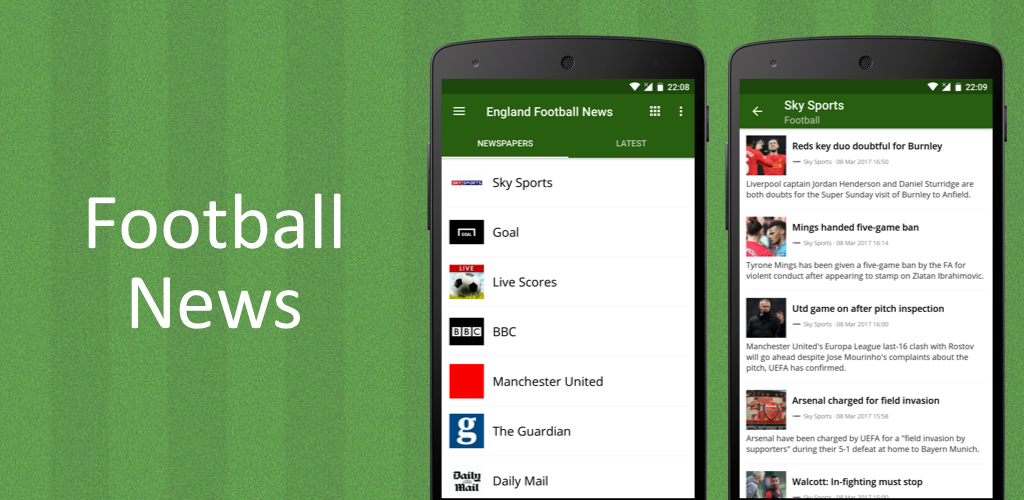 Download Football News APK latest version 7 2 for android