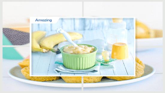 zdravé banánové kojenecké výživy - náhled