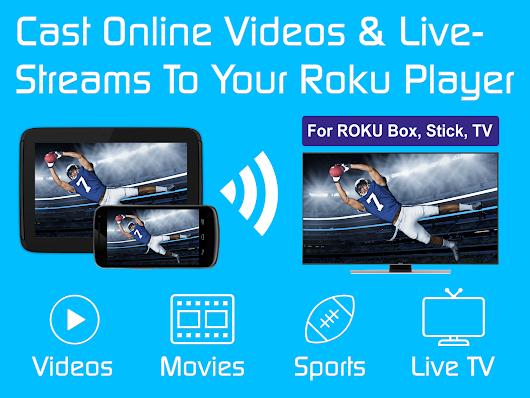 Video & TV Cast   Roku Remote & Movie Stream App - Apps on